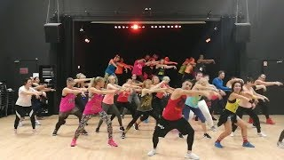 Zumba fitness -  Lenier ft Diana Fuentes -Te Toque Sin Querer
