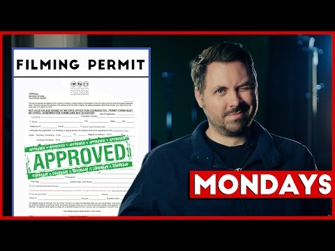Mondays: Permits, Raising Money & Books on Screenwriting