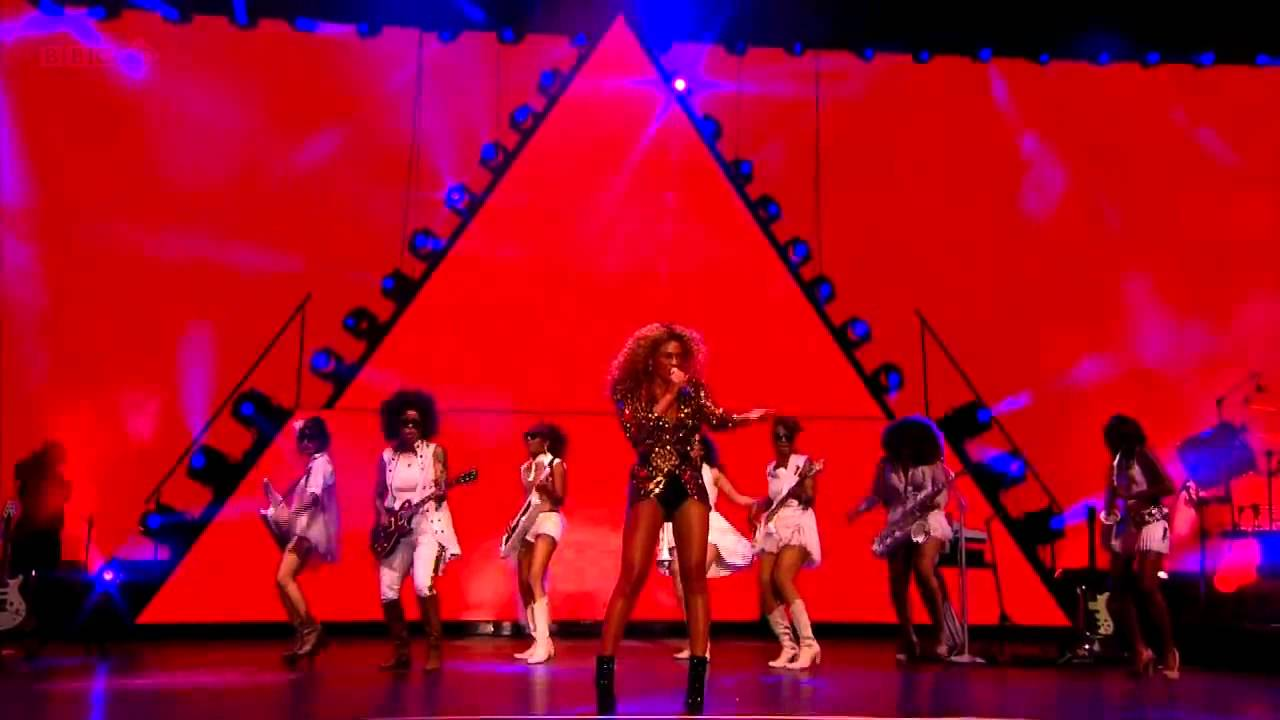 Beyonce-Naughty Girl And Baby Boy Live Glastonbury From -7856