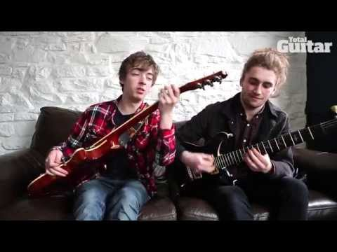 Me And My Guitar interview with Marmozets'  Jack Bottomley and Sam Macintyre