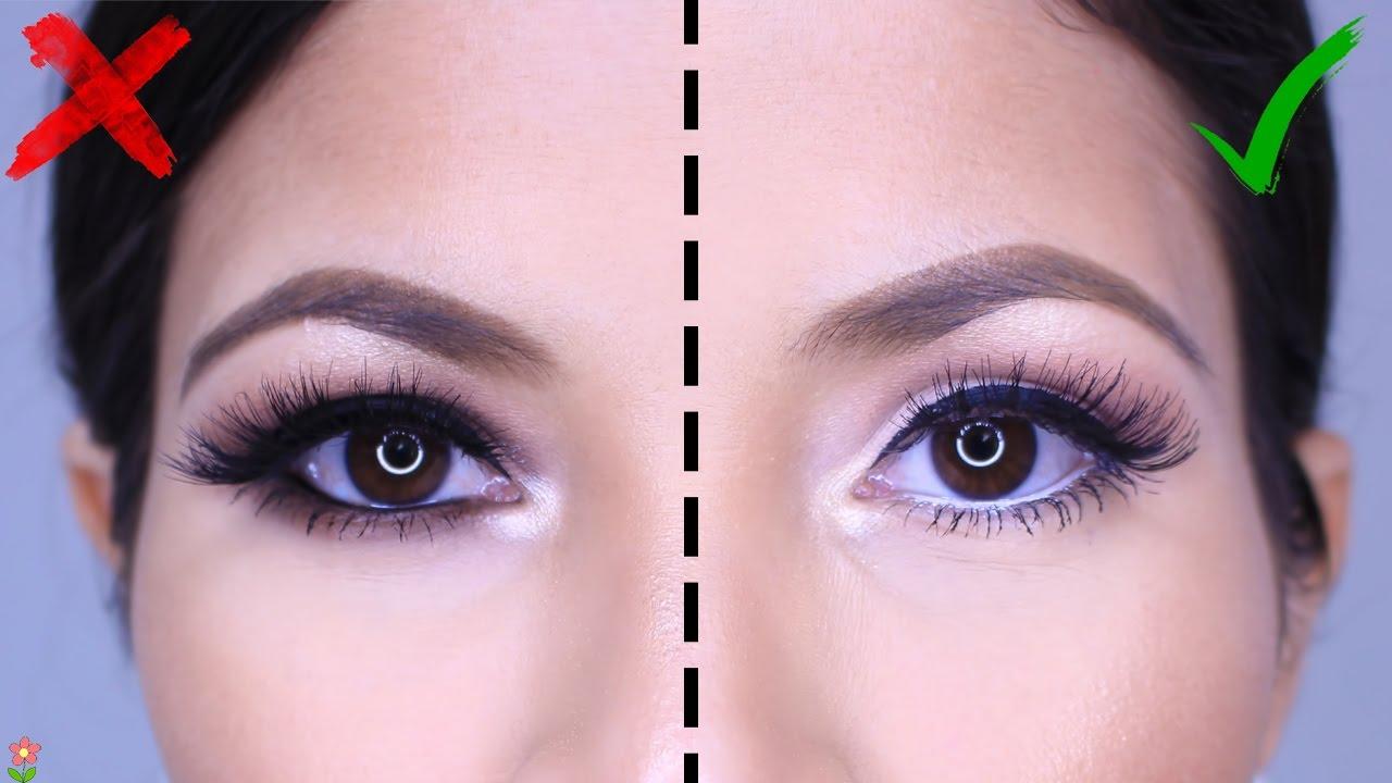 Como hacer que los ojos se vean mas grandes con maquillaje for Como se maquillan los ojos ahumados