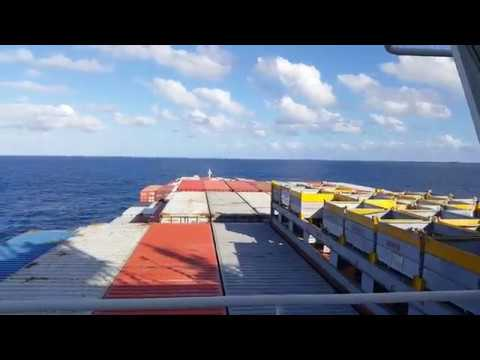Container Ship - Bridge walk around - MV Kowloon Bay