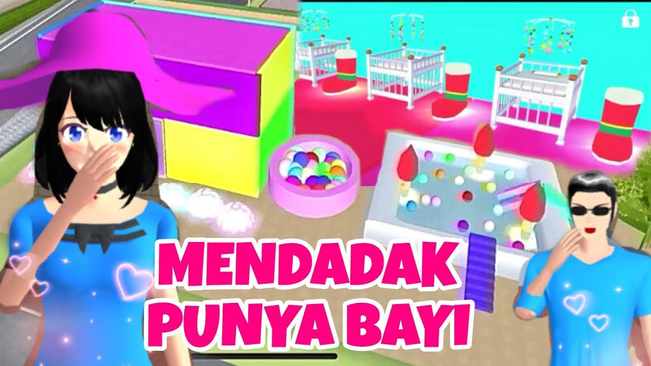 MENDADAK PUNYA BAYI GARA2 HP Kentang Part 1 ! DRAMA SAKURA SCHOOL SIMULATOR LUCU