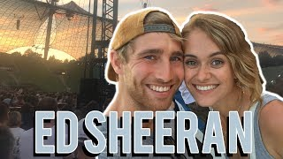GÄNSEHAUT - So war es auf dem ED SHEERAN KONZERT #vlog Nr. 421 | MANDA