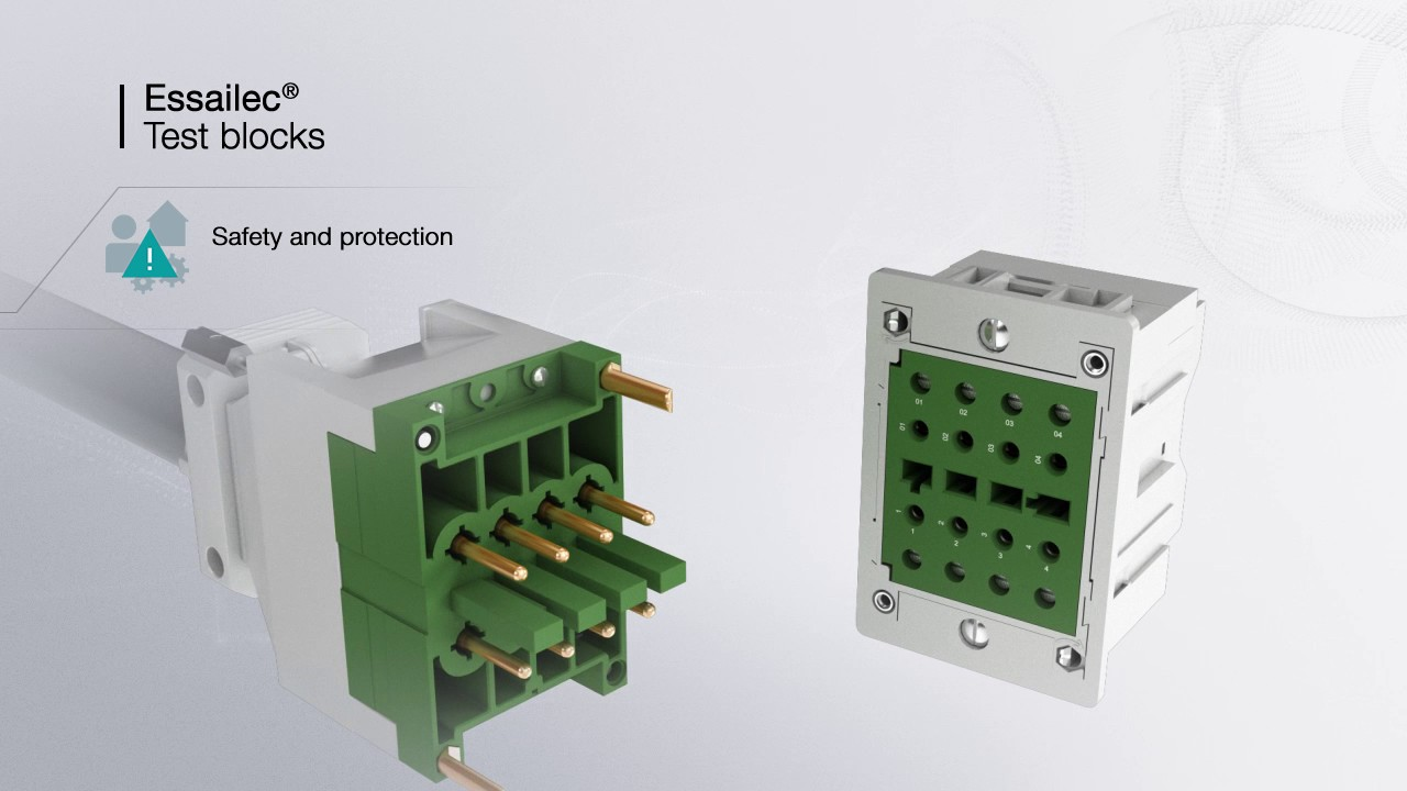 Test Blocks For Switchgears And Meters Essailec 174 Youtube