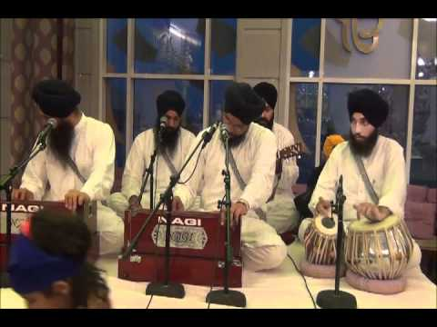 Sache Paatshah - Bhai Amarjit Singh Patiale Wale ( Mob:+91 9814734564) @ Guru Nanak Darbar Dubai
