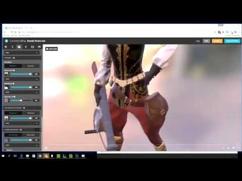 iClone 6.5 Tutorial - Assigning PBR Textures in Sketchfab