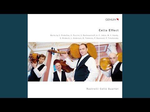 St. Louis Blues (arr. S. Drabkin for cello quartet)