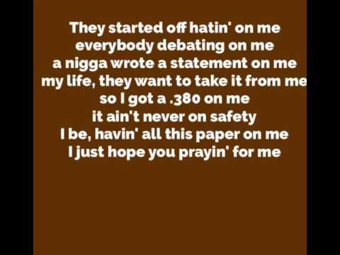 A boogie- not a regular person lyrics