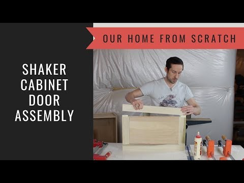 how-to-build-a-cabinet-lesson-32:-cabinet-door-assembly