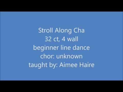Stroll Along Cha line dance