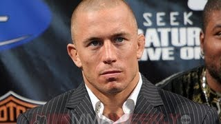 """Georges St-Pierre Defends Rory MacDonald and Says, """"I'm not fighting Rory"""""""