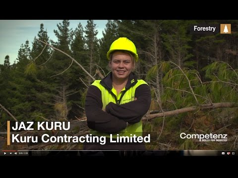 Competenz Trades: How to become a forestry worker - Jaz Kuru