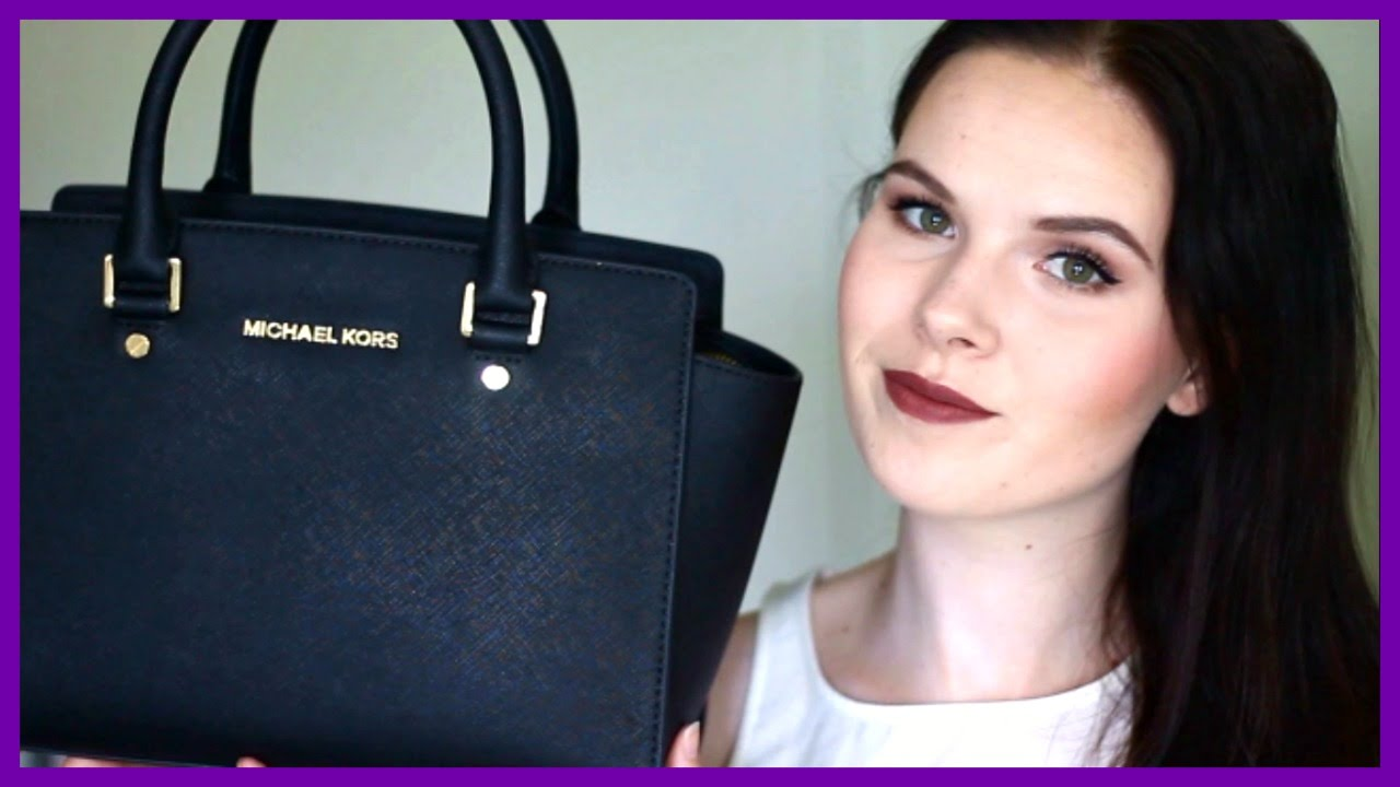 068825ad2aa6 What s In My Bag 2015 - Michael Kors Selma - YouTube
