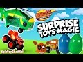 SURPRISE TOYS MAGIC Blaze and the Monster Machines Swoops Brings SURPRISE EGGS & Blaze Surprise Toys