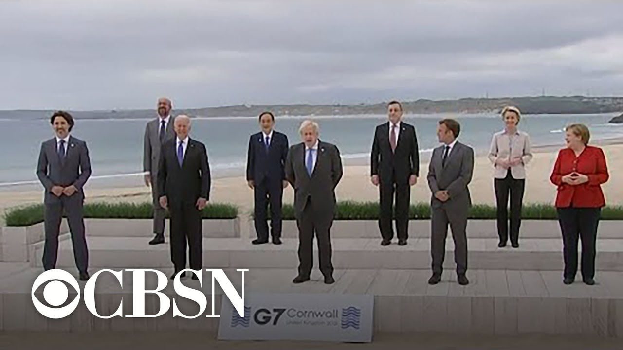 G7 summit gets underway in England with meeting of world leaders