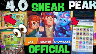 RUSH ROYALE|| *SNEAK PEAK* HOT HEROES 😱+ RUSH OF GLORY GAME MODE+ NEW EMOTES 💣+ NEW UNITS😭 (#124)