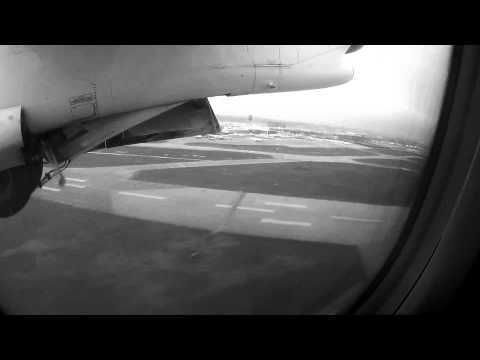SJ4000 Test Video out of airplane taking off (Adobe Premiere color correction applied)