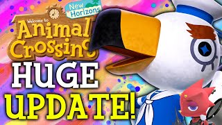 Animal Crossing August Update ALL New Features Events Villagers Fish Bugs in New Horizons