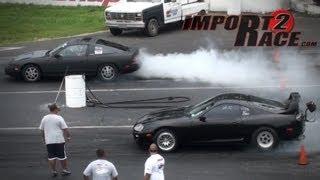 Nissan 240sx vs Toyota Supra