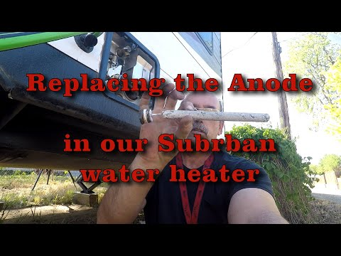 Replacing The Anode Rod In Our Suburban RV Water Heater