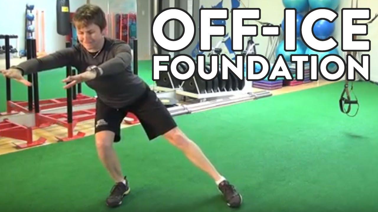 Hockey Goalie Training Video Off Ice Foundation Workout Youtube