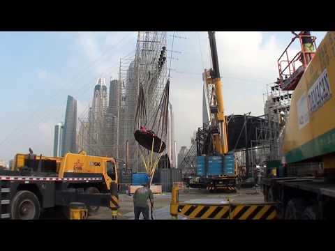 Human Slingshot - BASE Catapult   0-200kph in 1 second