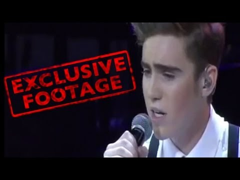 Harrison Craig Audition - EXCLUSIVE FOOTAGE