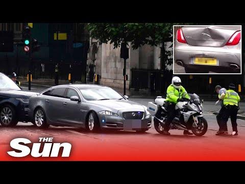 Boris Johnson car crash, PM in minor collision after protester runs in front of convoy