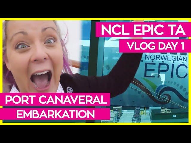 Norwegian Epic | Boarding, Haven Cabin Tour & Sail Away | Norwegian Cruise Line Vlog Day 01