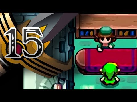 The Legend of Zelda: The Minish Cap - Part 15 -Missing Book & Flippers