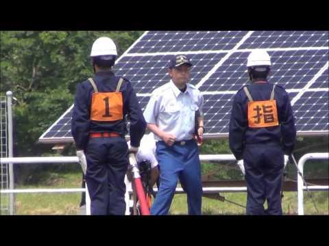 2017秋田県五城目町消防第一分団小型ポンプ操法