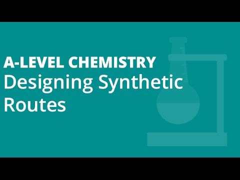 122 Designing Synthetic Routes YT