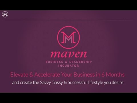 Maven Business Academy - Post conference check in