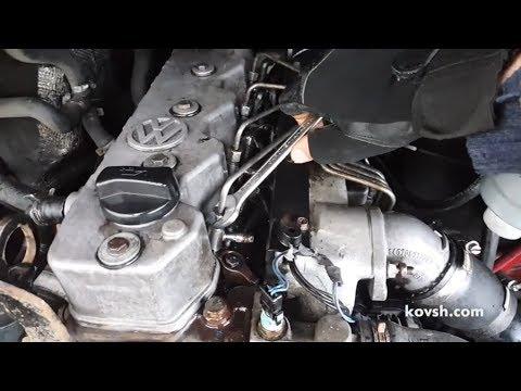Причина дымления — отсутствие степени сжатия. Volkswagen LT 2.8 TDI ATA