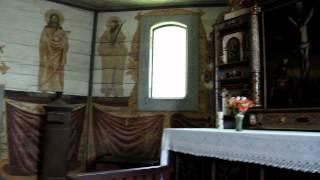 Skansen w Olsztynku (04) kościół ewangelicki (2) 1.05.2012