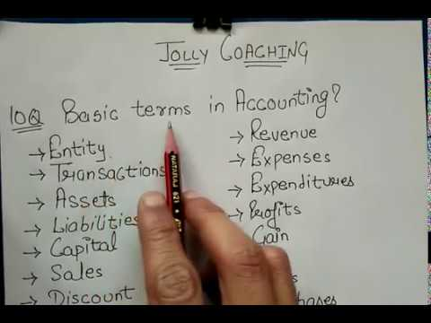 Expected/Important Accounting Theory Questions with Accounting Principles in Hindi By JOLLY Coaching