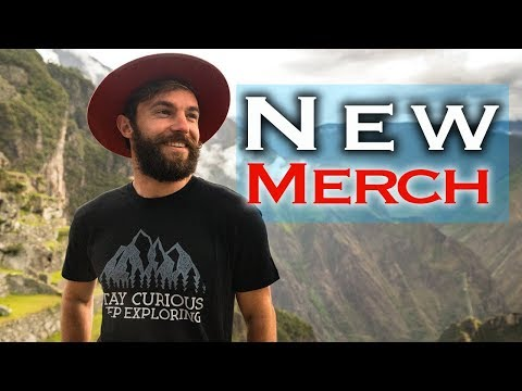 EXCITING ANNOUNCEMENT FROM PERU // VAGABROTHERS MERCH!!!