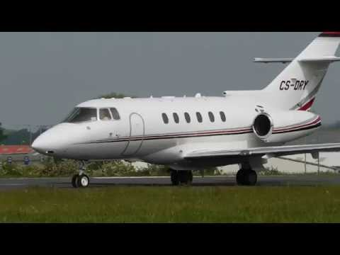 Awesome Spotting At London Southend Airport Volotea 717, Hawker 800, DAT ATR 72 And More! 28/05/2016