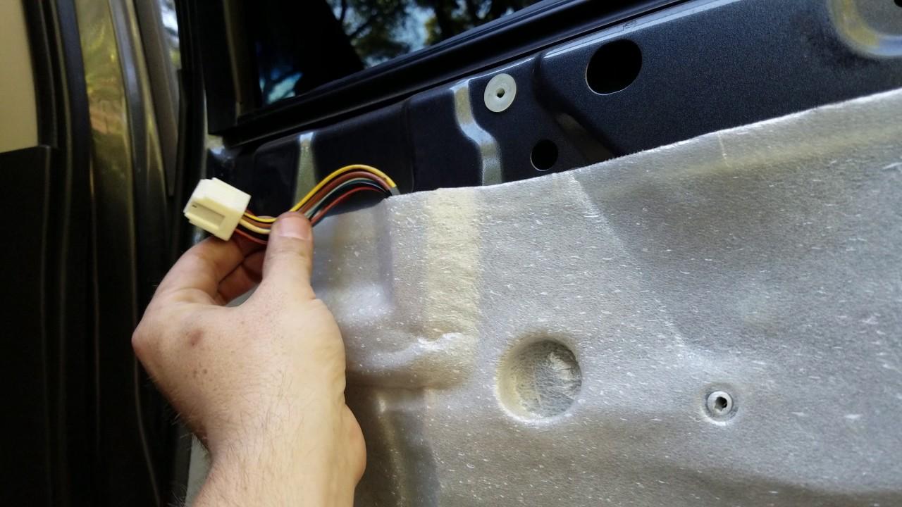 2008 Nissan Titan Door Panel Removal Youtube Armada Heater Actuator