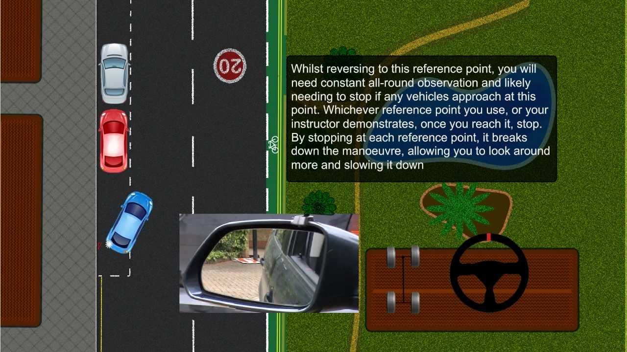 Reverse Parallel Parking Tutorial Youtube