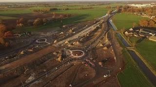 N34 tunnel Holthone en aansluiting Klooster 19 november 2018