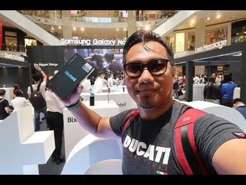 SAMSUNG GALAXY NOTE 8 MALAYSIA : Lelaki Kembara Beli NOTE 8