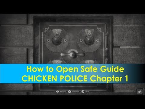 How to Open Safe Guide | CHICKEN POLICE Chapter 1