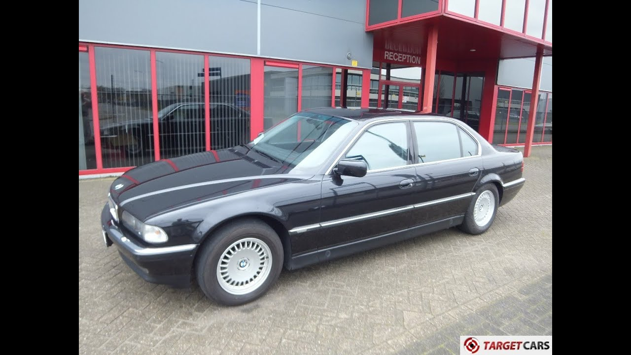 BMW Convertible 1990 bmw 750 750210 BMW 750IL LONG E38 LIMOUSINE 5.4L V12 326HP E36 08-97 BLACK ...