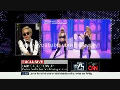 Lady Gaga Talks Madonna