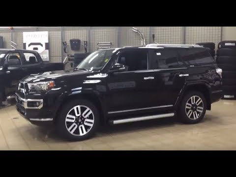 2018 Toyota 4runner Limited Review Youtube