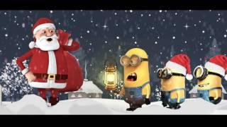 Minions Santa Claus Christmas