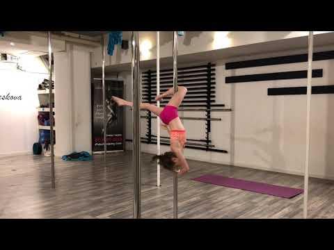 Pole dance ♥️ training / Alisa Lukin אליסיה לוקין