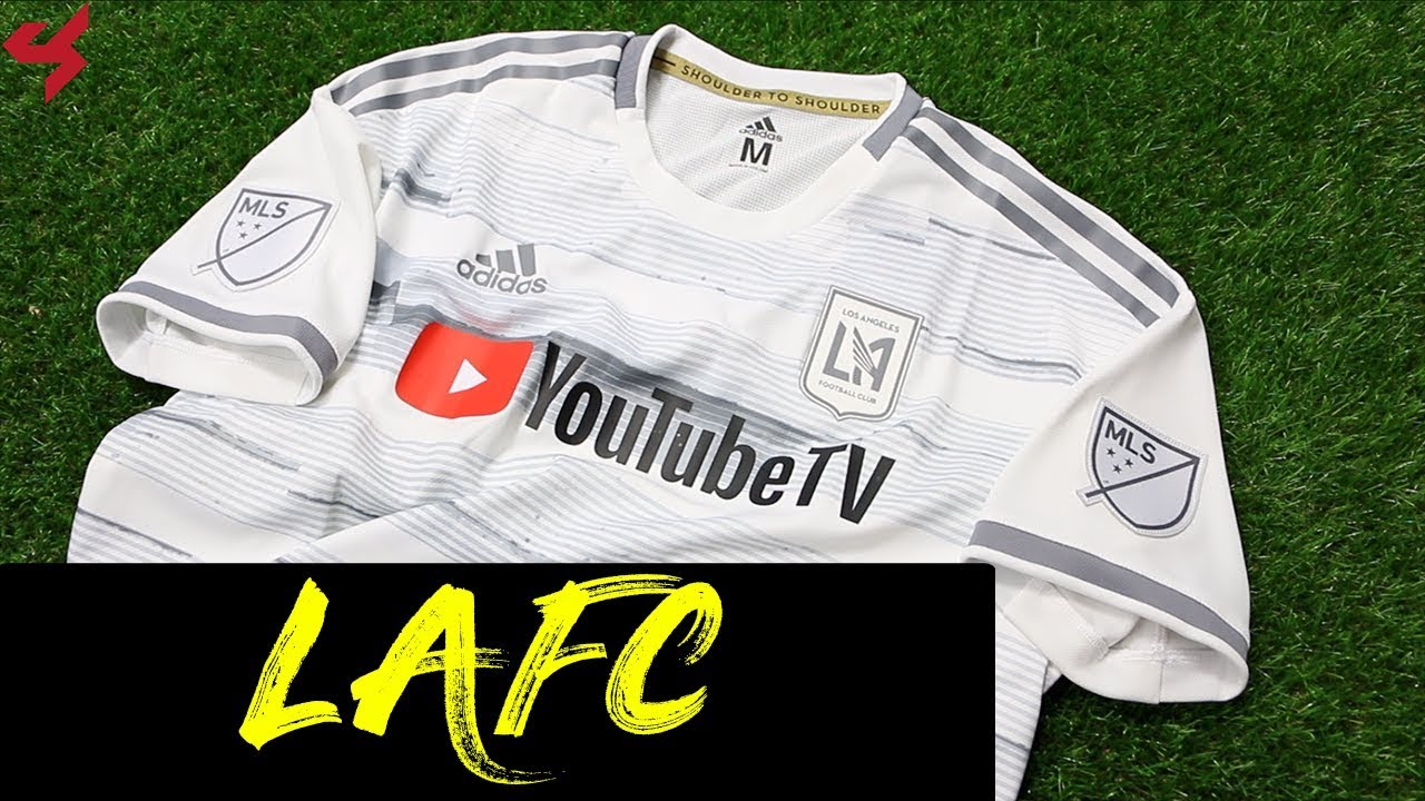59511c00a12 Adidas Los Angeles FC 2019 Away Jersey Unboxing + Review - YouTube